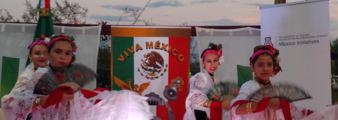 Children dance at 2019 Fiesta de la Independencia de Mexico Fundraiser